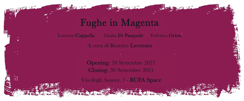Fughe in magenta - Immagine news