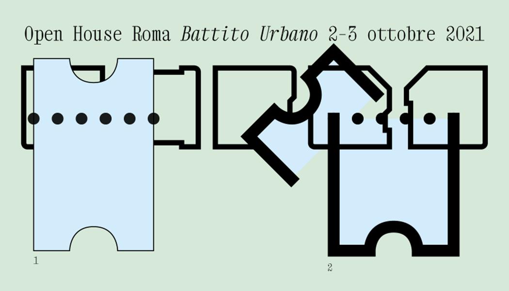 Open House Roma - Battito urbano - Visual